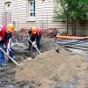 Насипване на канализационни тръби